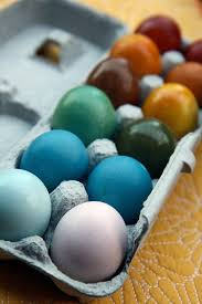 eco easter eggs eco friendly easter eggs my green mattress