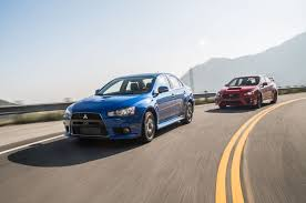 lancer evo 2016 the end of a rivalry mitsubishi lancer evolution mr and subaru