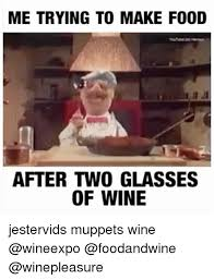 How To Make A Meme With Two Pictures - me trying to make food youtube henson after two glasses of wine