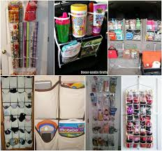 Organize Gift Wrap - organize your whole house with one trip to the dollar store