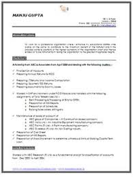 resume exles for 2 chartered accountant resume format freshers page 2 cv exles