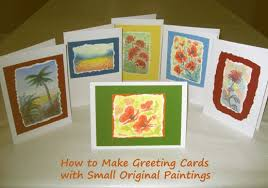 painting greeting cards in watercolor how to create greeting cards with original paintings holidappy