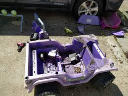 purple barbie jeep power wheels jeep restoration for my three year old son album