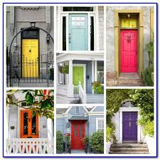 good red color for front door painting home design ideas
