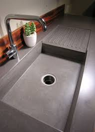 Concrete Kitchen Sink by Best 25 Concrete Counter Ideas On Pinterest Polished Concrete