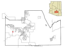 Arizona Zip Code Map by Stanfield Arizona Wikipedia
