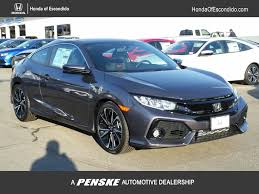 2017 new honda civic coupe si manual at honda of escondido serving