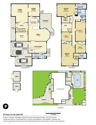 castle green floor plan 39 powys circuit castle hill nsw 2154