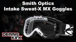 smith motocross goggles smith optics intake goggle youtube