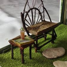 how to make a miniature rustic bench joanna campbell slan