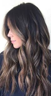 dark brown hair with blond highlights pictures hairstyles with blonde highlights on dark brown hair