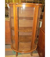 wood curio cabinet with glass doors antique cherry wooden curio cabinet with glass doors and original