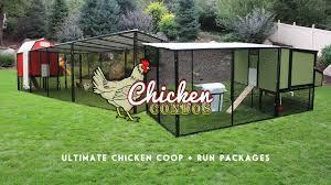 Chicken Coop Kit Ultimate Chicken Coop Run From Chicken Condos Youtube
