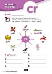 tr consonant blend free printable worksheet pack kindergarten