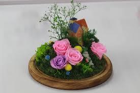 diy custom preserved fresh flower freeze dried roses christmas
