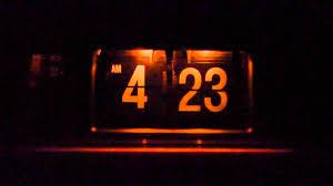 clock radio with night light sony flip clock alarm clock radio icf c310w youtube