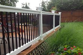vinyl railings vinyl deck stair railing systems from vinyl