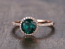gold emerald engagement rings best 25 emerald engagement rings ideas on green