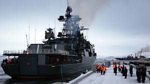 build a navy voyage challenge rt joins russian navy fleet in arctic base