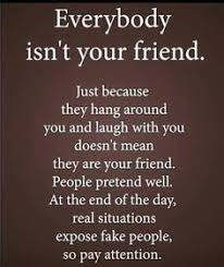 True Friend Meme - we don t lose friends we just learn who our real ones are true