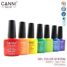 7 3ml canni gel varnish odorless nail polish uv color gel long
