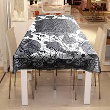 halloween tablecloth gothic black lace table cloth desk cover halloween decor at