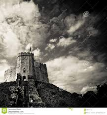 medieval castle on hill stock photography image 19847842