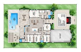 floor plan of house with attractive setting 1228 home design