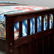 furniture of america gartel espresso daybed w 3 twin beds cm1610