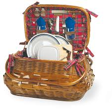Picnic Basket Set For 2 Two Person Picnic Baskets Outdoor Entertaining Pinterest