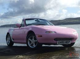 mx5 eunos sports roadster 1989 1 6 manual pink convertible low