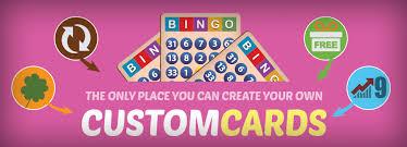 bingofest custom cards information