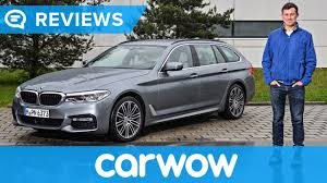 bmw 5 series touring 2018 review mat watson reviews youtube