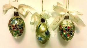 29 95 waterford glass ornaments mini majestic eggs