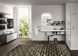 furniture modern bathroom vanities and cabinet with handleless