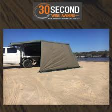 Wing Awning 30 Second Wing Awning Wall Online Off Road Equipment U0026 Ute Accessories