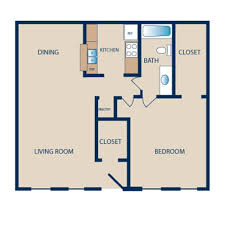 1 Bedroom Floor Plans by Floor Plans Towne Plaza Apartments Luxury Apartment Living In