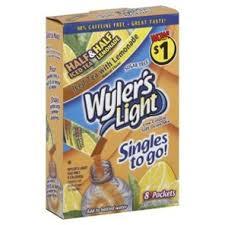 wyler s light singles to go nutritional information wyler s light singles to go half and half iced tea with lemonade