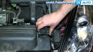 how to install replace mass air flow sensor 2000 05 toyota celica