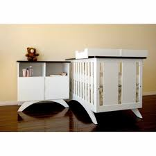 White Crib And Changing Table Crib Changing Table Combo On Me Casco 4in1 Mini Crib And