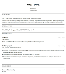 Online Resume Template Word Resume Builder Free No Sign Up Resume Template And Professional