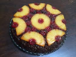 ginger molasses pineapple upside down cake fireislandchef