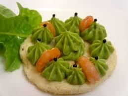 canap avocat crevette blinis au guacamole et crevettes diet délices recettes dietétiques