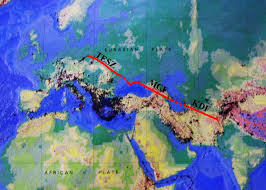 Himalayan Mountains Map Features Of Caucasian Segment The Alpine Himalayan Convergence And