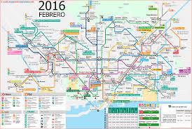 Transport Map Barcelona Public Transport Map Transportation Public Transport