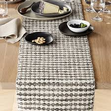 Coffee Table Runners Canton Wool Table Runner Crate And Barrel