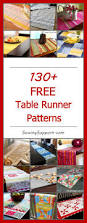 halloween table runner pattern 130 free table runner patterns table runner pattern project