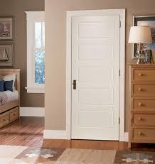 5 panel interior door vertical practical and aesthetic 5 panel