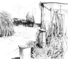 how to draw scenery of tea garden step by garden trends