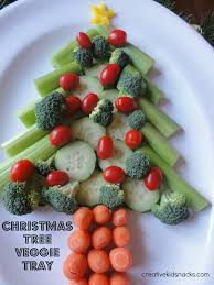 3 creative christmas veggie trays